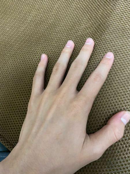 手は綺麗な方ですか?