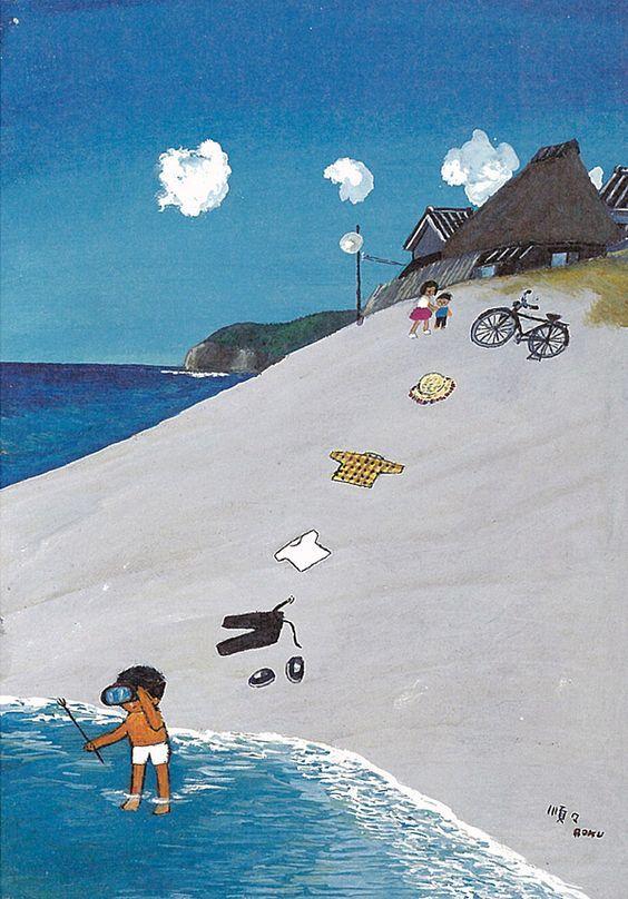 谷内六郎さんのような絵を描く方ってご存知ですか? 国内外問わず、漫画や映画でもジャンルは問いません