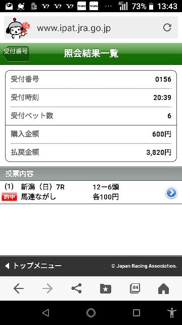 新潟最終 13―1.3.4.5.11 なにかいますか?
