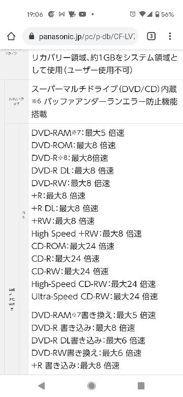 ノートパソコン(i5、シルバー、SSD256、スーパーマルチドライブ、Office2019搭載モデル) CF-LV7CDGQR のパソコンでブルーレイの再生は出来ますか?