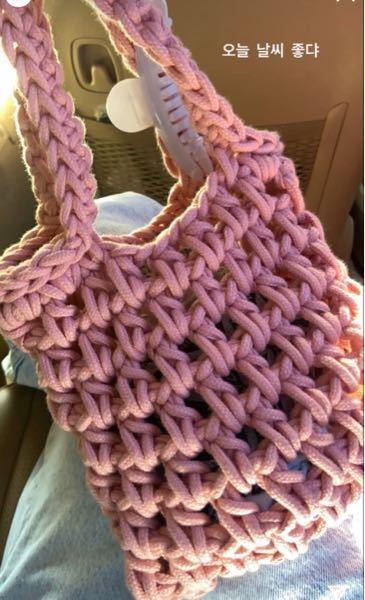 こちらのバックは何編みで作られていますでしょうか? 持ち手の部分の編み方もおしえていただきたいです!