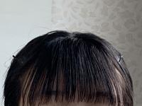 この前髪って変ですか?オイルつけすぎですかね…?