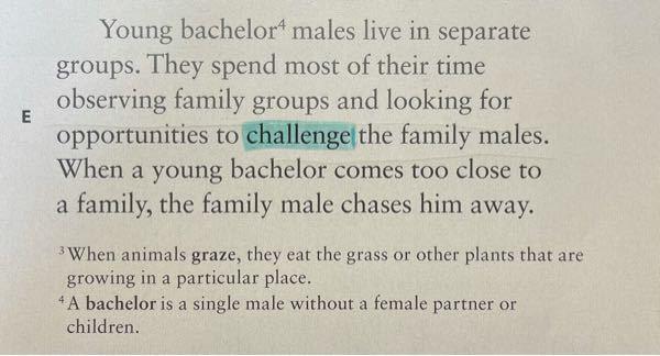"""この""""challenge""""はどのように訳したらいいですか?"""