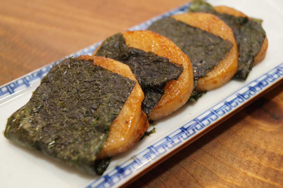 お正月には「長芋の磯辺焼き」を食べますか??