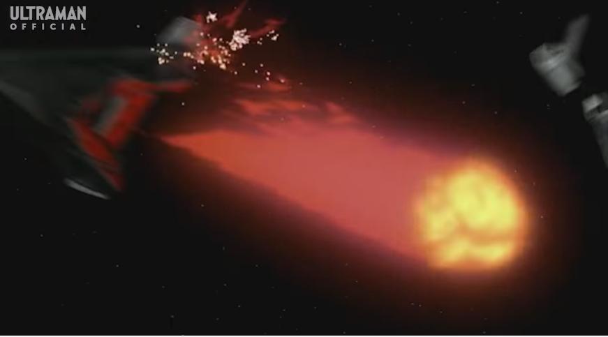 『追跡していた怪獣ゲランダが不意撃ちで吐いた火球を受けてしまうガッツイーグル』 数ある特撮作品の中で「敵が不意撃ちをしてくる場面」と聞き、思い浮かべたのは何ですか?