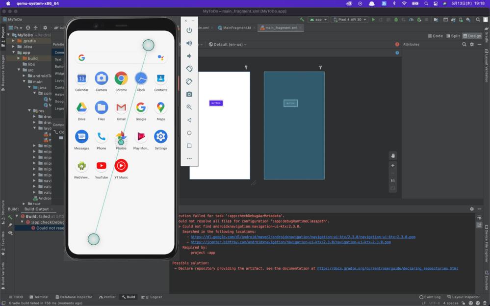 android studioでアプリを作り始めました。 avdで実行しようとしたのですが、そのプロジェクトが表示されません。 この場合どうしたらいいのでしょうか。