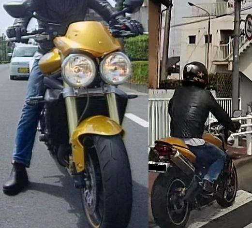 【画像参照】このイビツなデザインのバイクは何というバイクでしょうか? メーカー名と車種名と出来れば排気量を教えて下さい。 似顔絵に出てきそうな特徴的な目玉です。