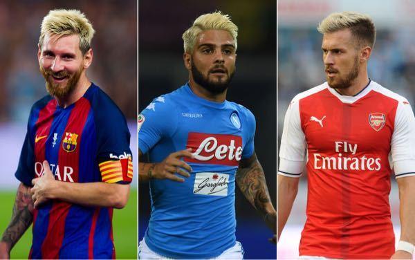 サッカー選手の金髪についてどう思いますか?