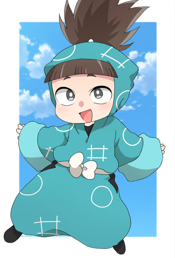 ある方のイラストで忍たまの制服を着た子が出てきたのですが、これは創作の子でしょうか?それとも公式で出てくるのでしょうか? もしでてるなら話数を教えて欲しいです!
