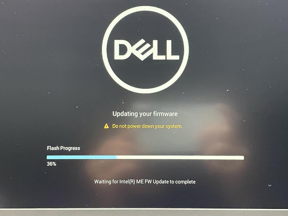 どなたか教えてください。 Dellのノートパソコンを購入して、使っているのですが、起動時に画像のような表示が出ました。これは、何でしょうか?