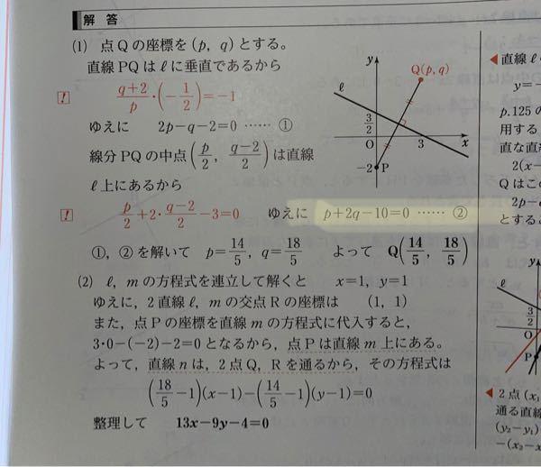 マーカーのとこの直線はどのようなものですか?