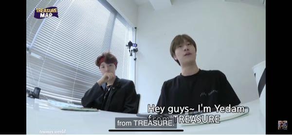 イェダムとドヨンとヒョンソクが英語で話すシーンはTREASURE MAPの何話で見れるかわかる方いますか?