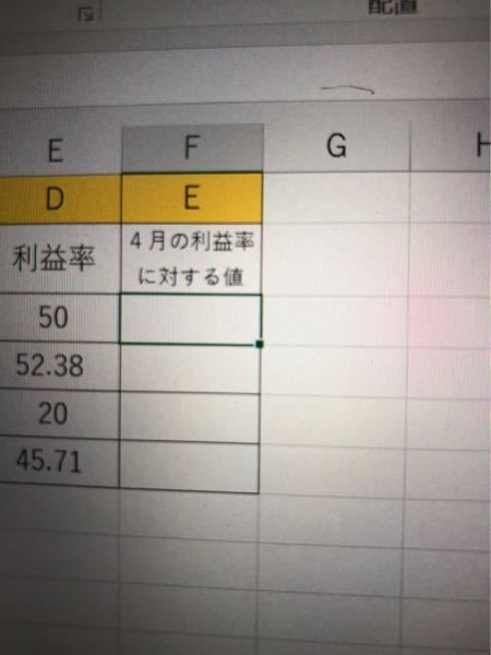 Excelについての質問(?)です 友人がこの写真だけ送ってきてこれを求める計算式教えてと言ってきたのですが情報量が少なすぎませんか?何が聞きたいのでしょうか?