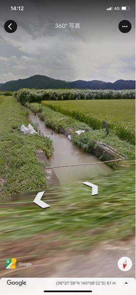 このような用水路でナマズは釣れるでしょうか? (この用水路は那珂川に繋がっています)