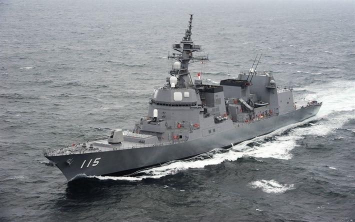 自衛隊のイージス艦ってアメリカの駆逐艦に次いで2番目に強いですか?