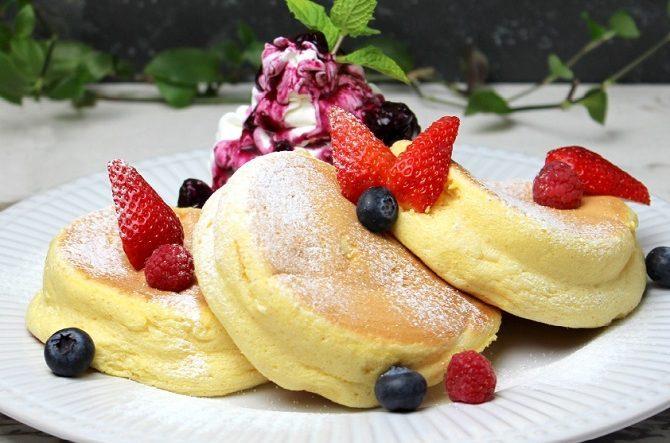 朝からパンケーキはキツイですか?