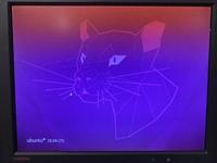 ubuntuサーバーのosをアップデートしたらログイン画面は表示されログインはできますがデスクトップの表示がバグって何もできません! 誰か対処法知りませんか?ログイン画面は正常です、そのあとにバグります写真の通りに