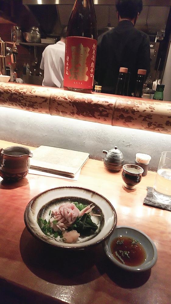 お店の名前が思い出せません。 神楽坂にある山口県の料理やお酒を出している落ち着いた雰囲気の和食店わかりますか?入口側にL字型のカウンター、奥にテーブル席があったと思います。