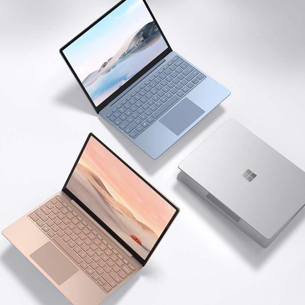 surface laptop goに似たデザイン、大きさ、重さのパソコンはありますか?? 特に、画面の縁がない(フラット?なんというのでしょうか)ものがいいです。