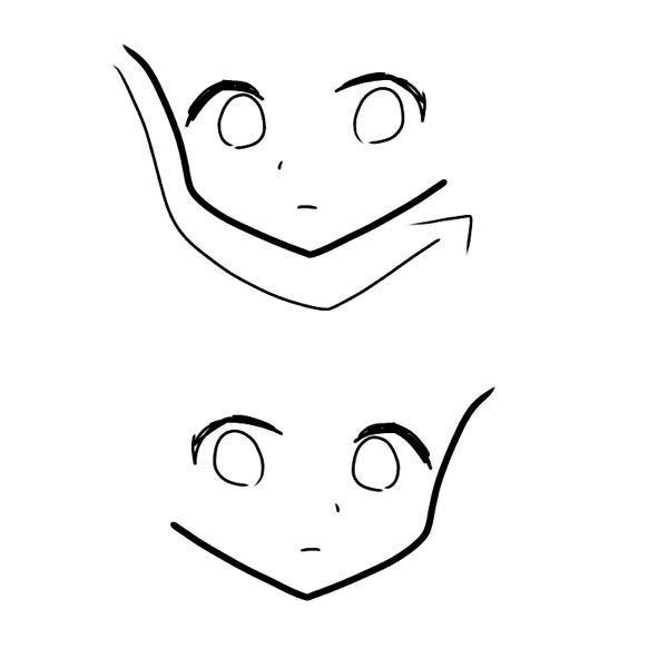 私は輪郭を描く時、この矢印通りの書き順で描きます。 そして、それを反転するとおかしくなります、 上手い人の絵は左右反転してもおかしくありません。 どうすればいいですか?