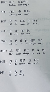 中国語の授業なんですが、訳せません。訳していただきたいです。