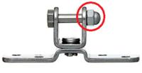 ボルトの反対側が抜けないようにする方法を探しています。 例えば、ミスミのパーツリストでいいますとIPF40K 添付画像の赤丸箇所はナットで止めた場合に長時間振動等を与えた場合にゆるみはじめて 最終的にははずれる可能性が考えられます。 これを回避するためにナットのかわりにピン止めのような資材は存在するでしょうか。 ※ボルトに横穴があいていてそれにピンをさすイメージ? ご存じの方いましたら紹介し...