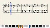 この上の部分と下の部分ってそれぞれ名前なんていうんですか? また、原曲のリズムを変えるということを今やっているのですが、どの部分を変えることで曲の雰囲気?は残しつつ、違う風の曲に変えることができるんですかね?