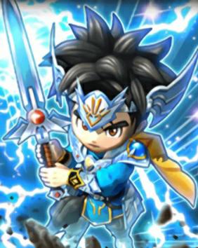 ドラクエウォークでダイの剣ガチャが出たら、防具は星ドラのこーゆー防具になりますか?