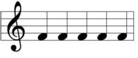 かんたんなぞなぞ 下の楽譜の音楽はな~んだ?  ※理由も書いてください。答えと理由が合っていて正解になります。