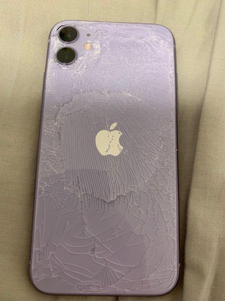iPhoneの背面がこうなり、少し湾曲してしまったのですが、中身が破裂する可能性はありますか?