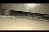 全自動洗濯機から水漏れしています。  原因分かりますか?? あと、自分で直すことはできますか??