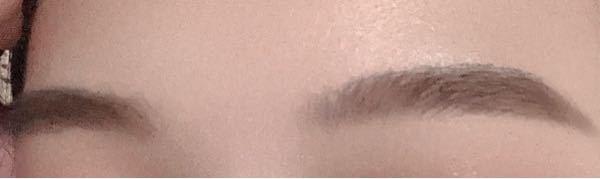 この眉毛変ですかね、?