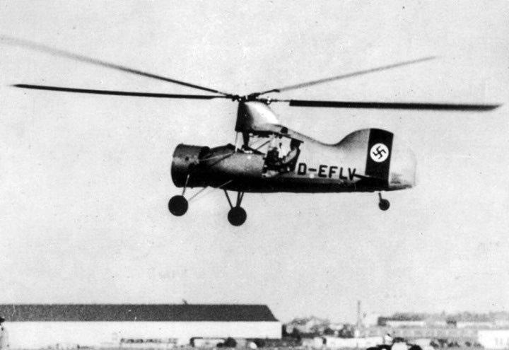 これはフレットナーFL265(ツイド)だけど、なぜ飛行機に似てるの❓