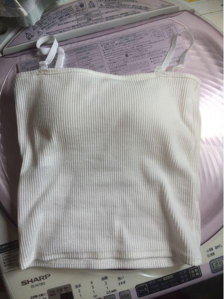 こういうストラップのブラキャミでプラスチックの部分があるものは下着の類なのでしょうか? インナーとして見えるように着るより、下着として着るものですか?