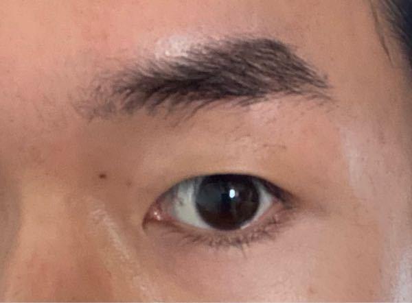 写真のように眉毛が濃く整えたいのですが、どうすればよいでしょうか。