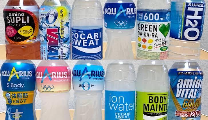 猛暑日に飲むスポーツドリンク、一番好きなドリンクは何ですか??