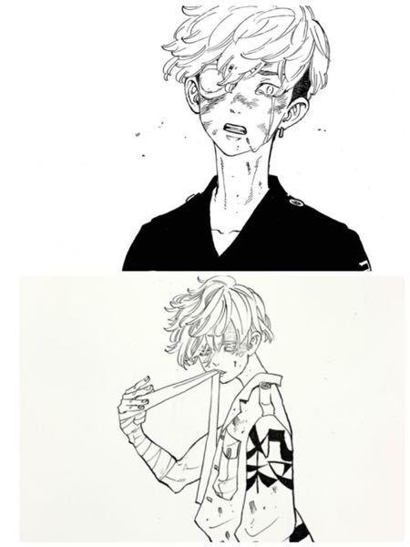 東京リベンジャーズこのキャラクターの名前を教えてください(>_<;)