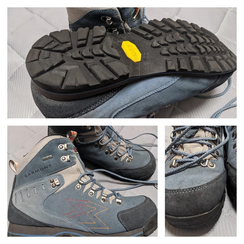 登山靴の経年劣化についてどなたか教えてください。 2012年に登山用に購入するもその後1度も登山をしなくなり街で数回履いた程度の靴があります。 そして来月富士山に登ることにしました。 吉田ルートで1泊登山ガイド付きツアーです。 見た目は大丈夫そうなのですが、靴底が剥がれたり心配ですが、一般論として9年前の登山靴は途中で壊れる危険が高いものでしょうか? 画像を見て判断できるものでもないと思いますが数枚載せます。 本日街中を10000歩ほど歩きましたが特に異常はなさそうですが。