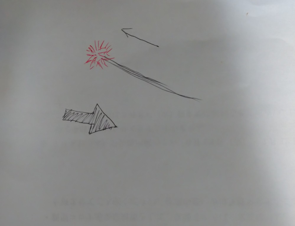 虫等生き物に詳しいかた教えて下さい! 3日前に山に行きました。 パラグライダーのできる開けた丘でご飯を食べたり景色を見てのんびりしていましたが、 ふと空を飛ぶ何かを見つけました。 それは風向きと逆方向に進むので意思をもって飛んでるのだと思いますが、ふわふわの薄いオレンジ?赤?色の丸い球状の綿毛に細い糸状の長い黒い尻尾?が付いていたのですが。 丘の下の方にすーっと飛んでいき見えなくなりました。 そんなに大きくはないと思います。 それこそタンポポの丸いままの綿毛に30~40センチ程の長さの尻尾かと思います。 一緒にいた彼も見ています。 私も生き物は好きなので色々な物は見ていますが初めて見ました。 虫に何かくっついていたのかな?とも思いましたが…。 誰か分かるかたーっお願いします。 絵でかくとこんな感じで、太い矢印が風向き、細い矢印がその生き物の進行方向です。