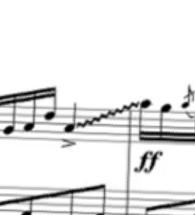 弾き方  このビヨーンと伸びてるところはどうやって弾くのですか?また何という表現ですか?