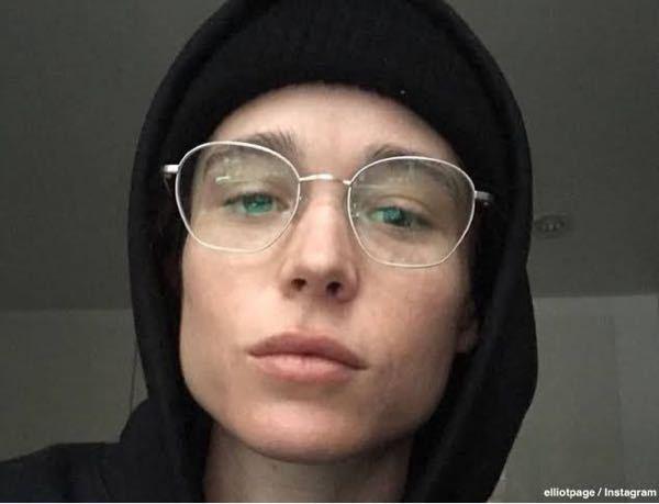 エリオットペイジのこの眼鏡、なんて言うやつかわかる方いますか?