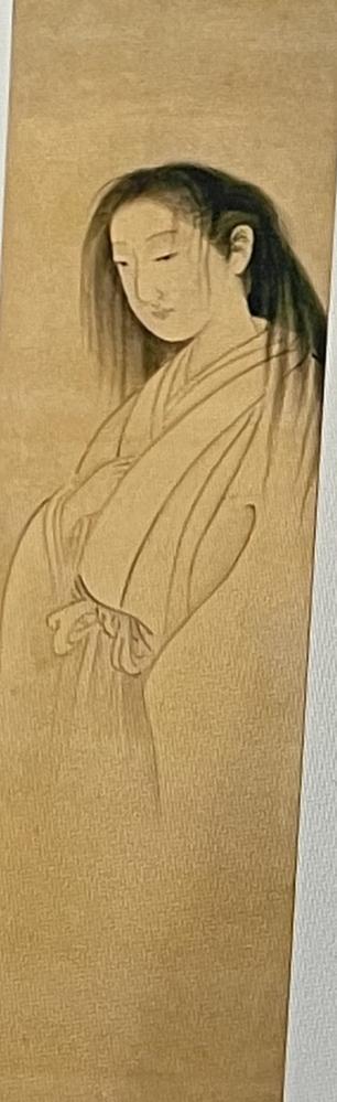 この絵を描いた人物って誰ですか? どうしても思い出せなくて…