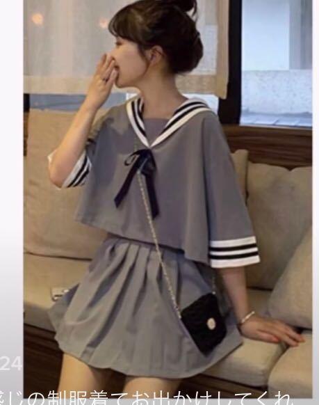 こういうセーラー服っぽい洋服が売ってるブランドってありますか?(*☻-☻*)