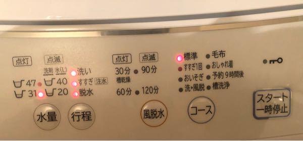 一人暮らしでこのタイプの洗濯機を使うのが初めてです。使い方を教えて下さい...。 必要最低限の洗濯で大丈夫です。
