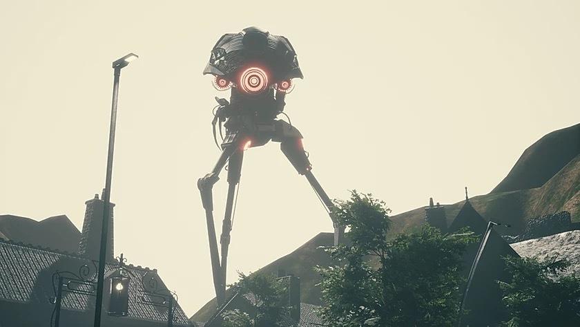 宇宙戦争に出てきた、この宇宙人ってシールドさえ無ければ簡単に倒せますよね? 自衛隊でも楽勝でしょうか?