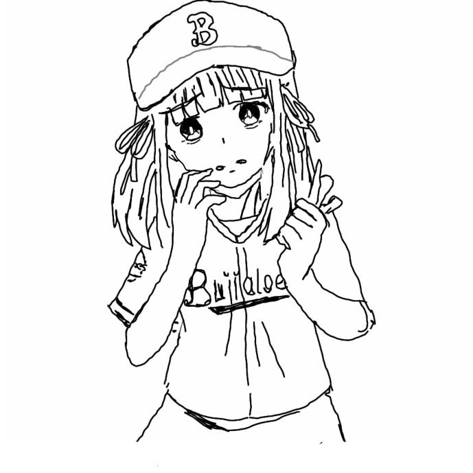 オリックスファンの子を描きました 台詞を教えてください