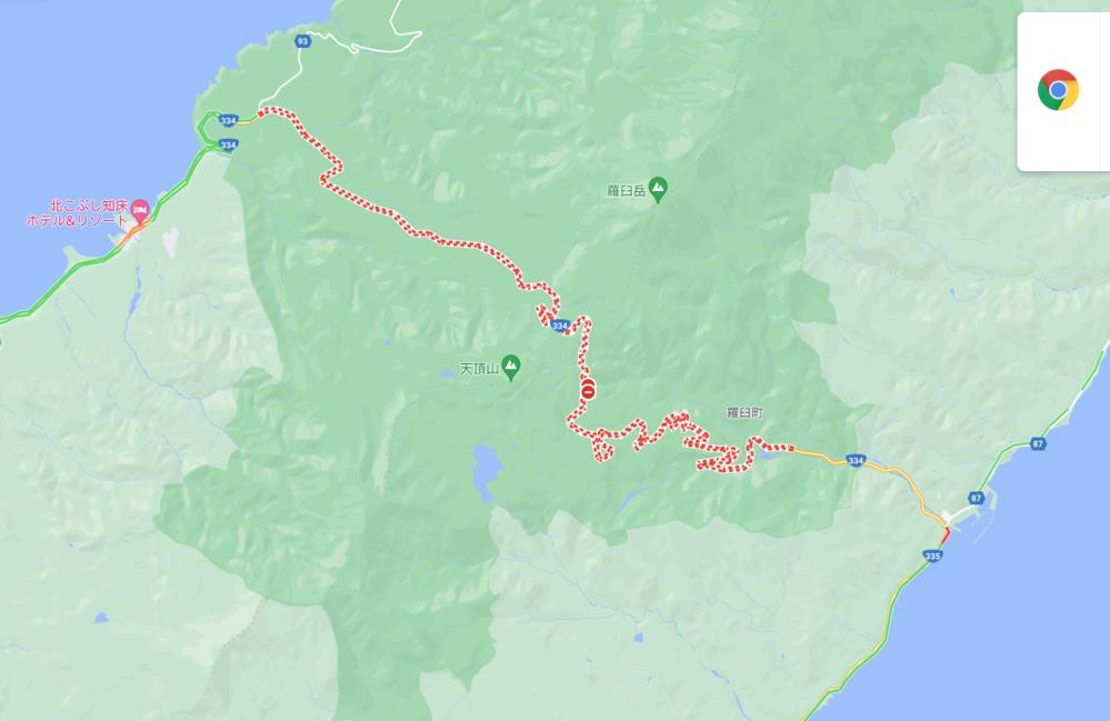 北海道、知床峠ですが 現在、通行止めなのですが? 5月末に開通したと発表あったのですが Googleマップで見ると、通行止め表示で… https://www.hkd.mlit.go.jp/ab/douro_seibi/icrceh00000011m5.html