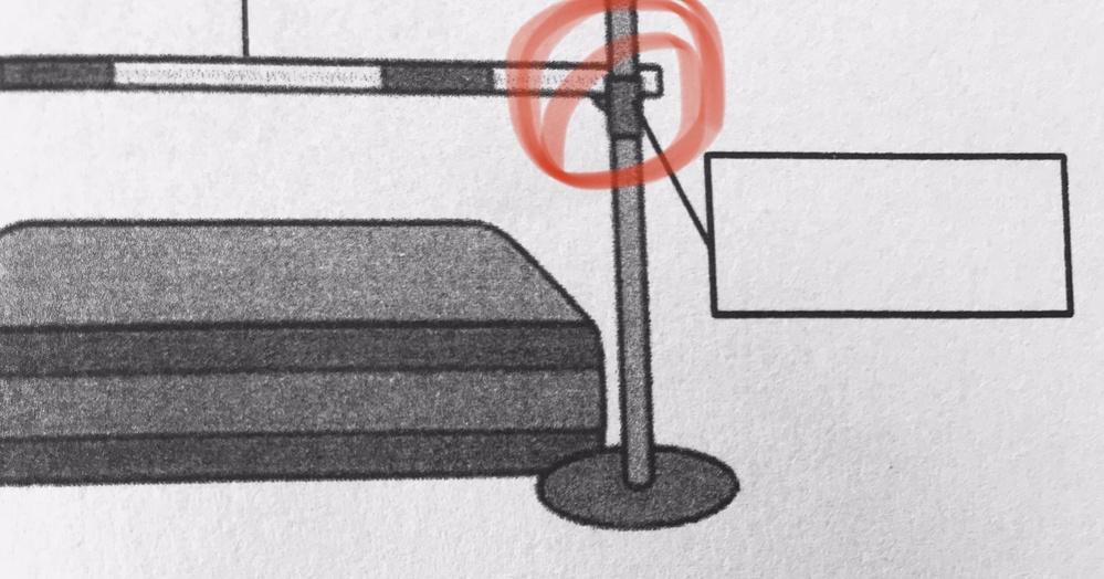 走り高跳びについての質問です。道具の名称の問題なんですけど、写真の赤で囲ってある部分ってなんていいますか?教えてください。