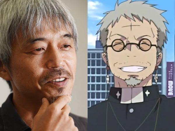 俳優の小市慢太郎さんと青の祓魔師の藤原獅郎って似てませんか?