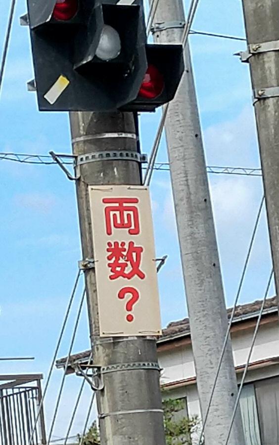 電車の標識で、画像の両数?ものは何を示すのでしょうか。 お詳しい方お願いいたします。